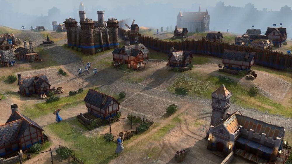 Engleski grad u Age of Empires 4