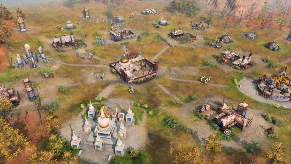 Pokretni mongolski kamp u Age of Empires 4