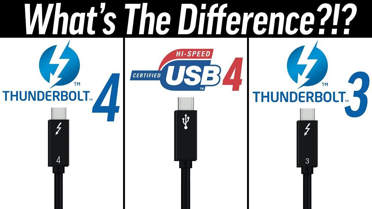 Thunderbolt 4 koja je razlika
