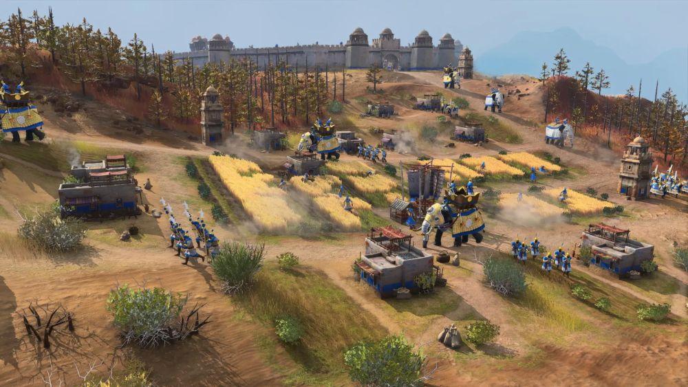 Vojska sultana iz Delhija u Age of Empires 4 s ratnim slonovima
