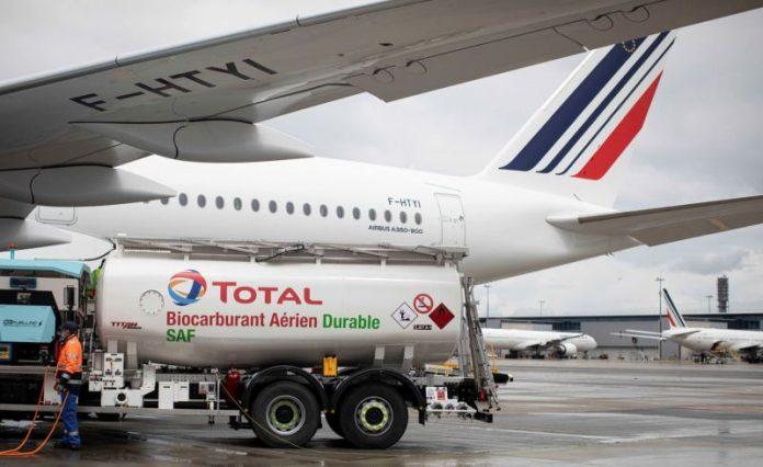 prvi prekooceanski let na održivo gorivo