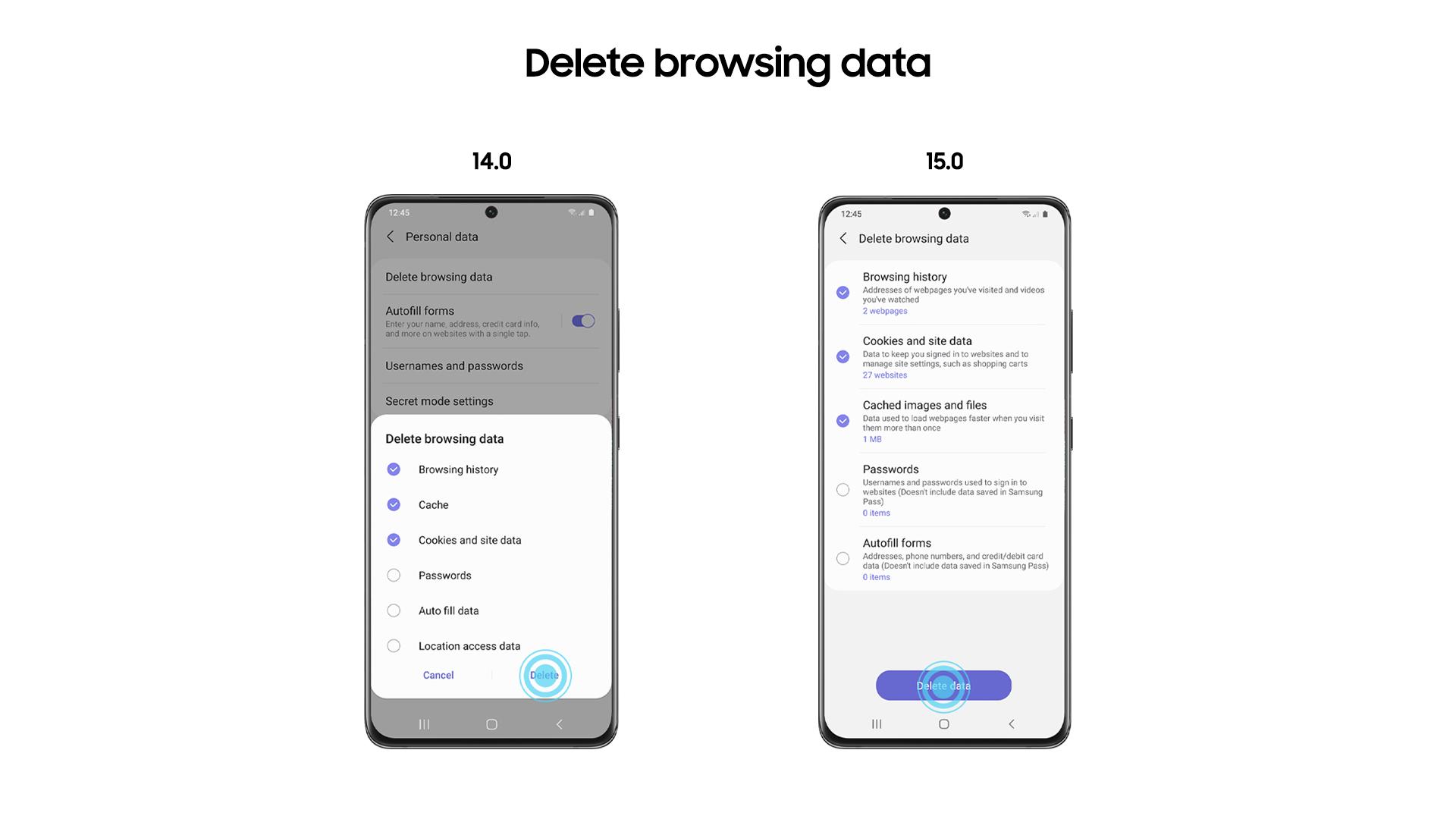 Samsung Internet 15.0