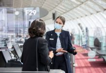 Surgical Mask at Airport