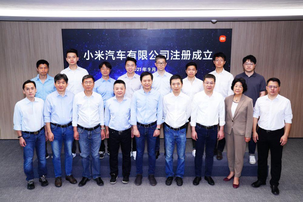 Xiaomi EV team
